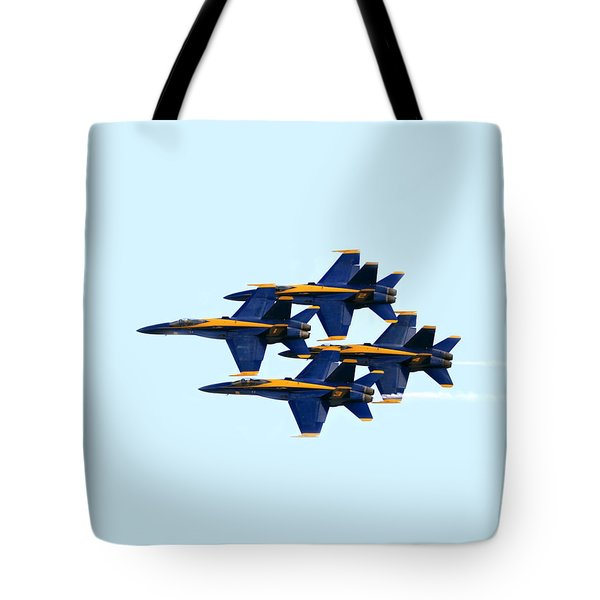 Blue Angels Formation I Tote Bag