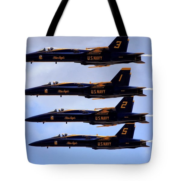 Blue Angels Formation IIi Tote Bag