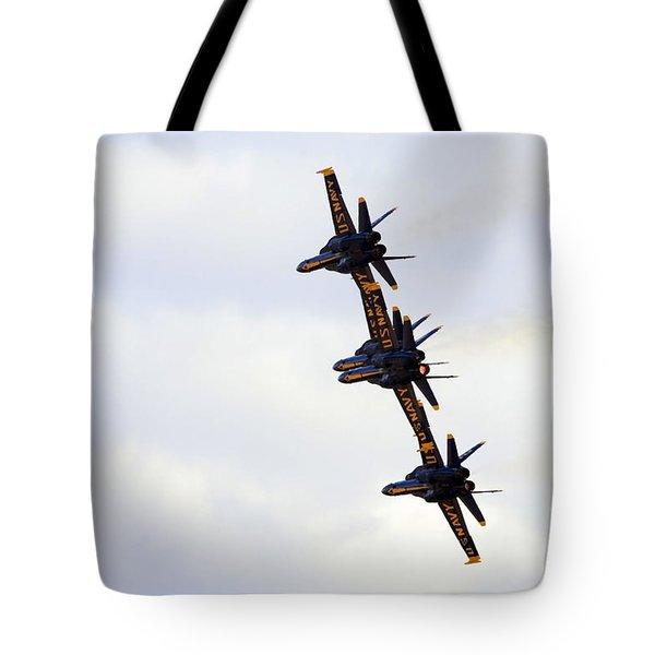 Blue Angels Formation Iv Tote Bag
