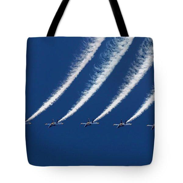 Blue Angels Formation Tote Bag