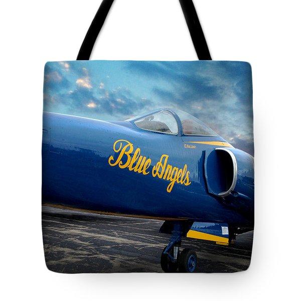 Blue Angels Grumman F11 Tote Bag