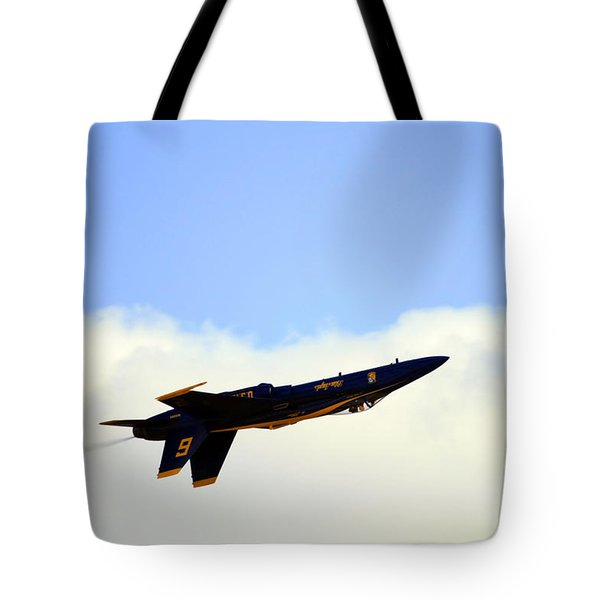 Blue Angels Maneuver Tote Bag