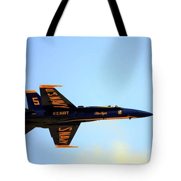 Blue Angels No. 5 Tote Bag