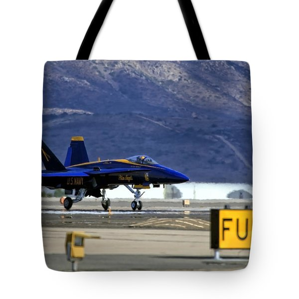 Blue Angels Taking Flight Tote Bag