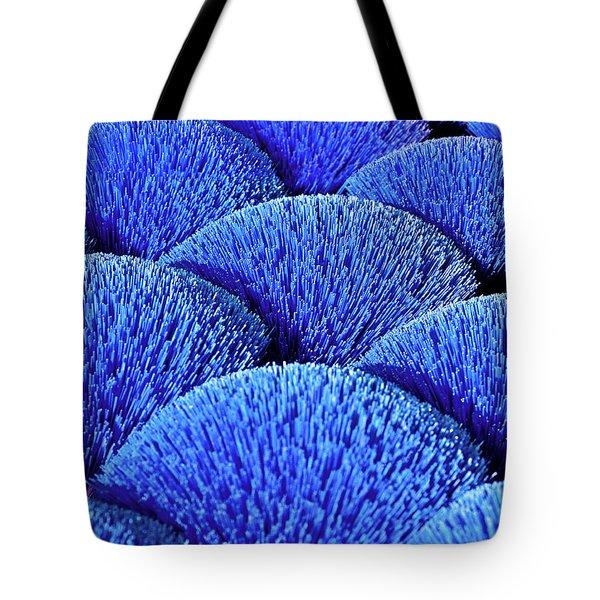 Blue Asia Sound Tote Bag