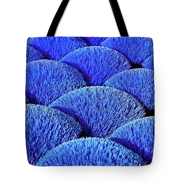 Blue Asia Sound Tote Bag