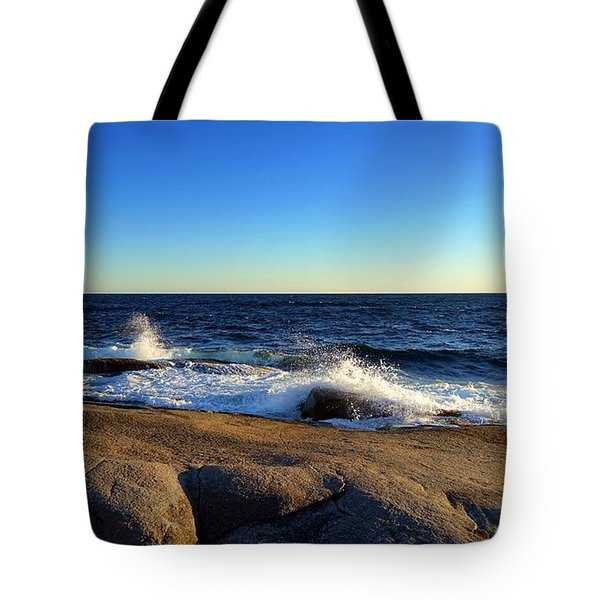 Blue Atlantic Tote Bag