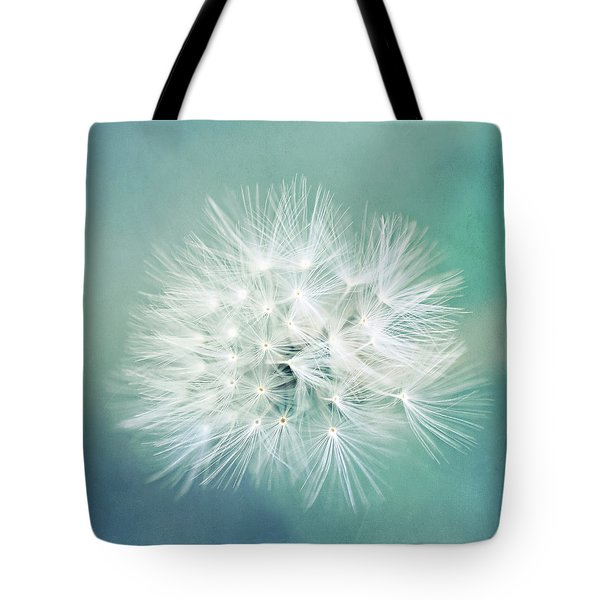 Tote Bag featuring the photograph Blue Awakening by Trish Mistric