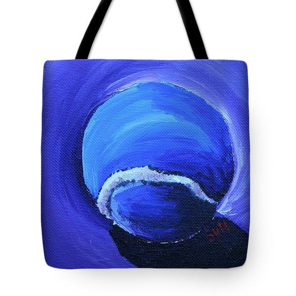 Blue Ball Tote Bag