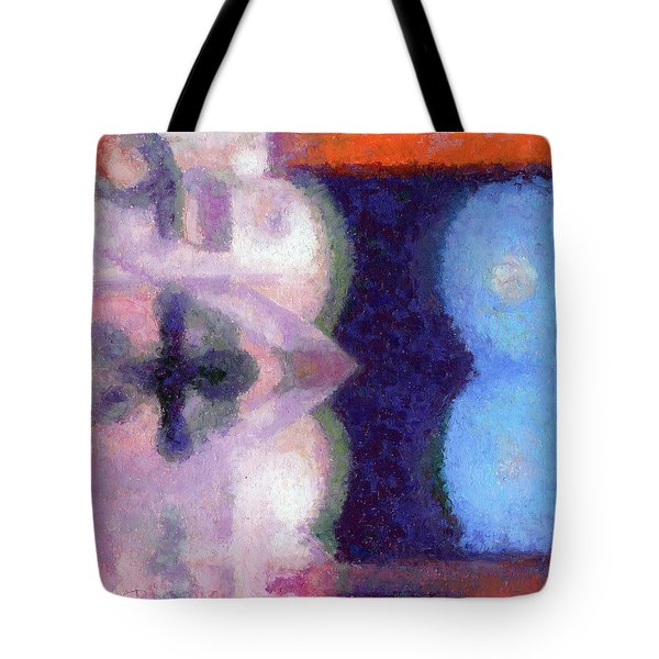 Blue Barrells I Tote Bag
