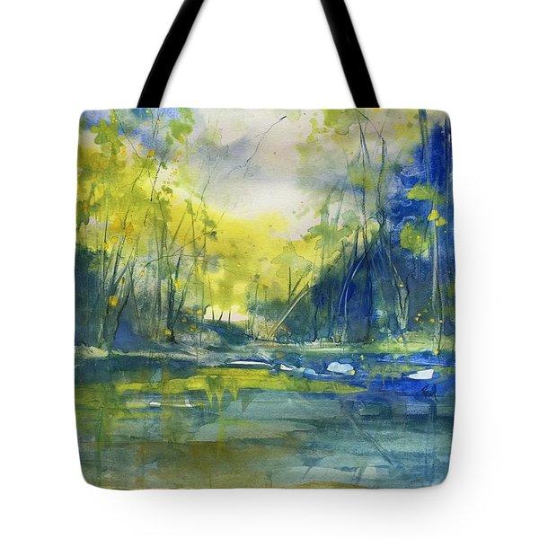 Blue Bayou Tote Bag