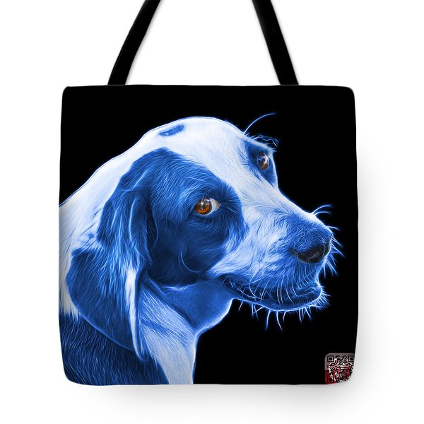 Blue Beagle Dog Art- 6896 - Bb Tote Bag