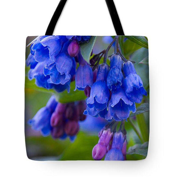 Blue Bell Vertical Tote Bag