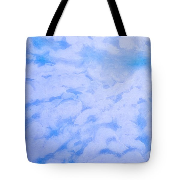 Blue  Tote Bag by Heather  Hiland