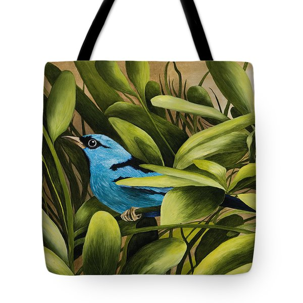 Blue Bird In Branson Tote Bag