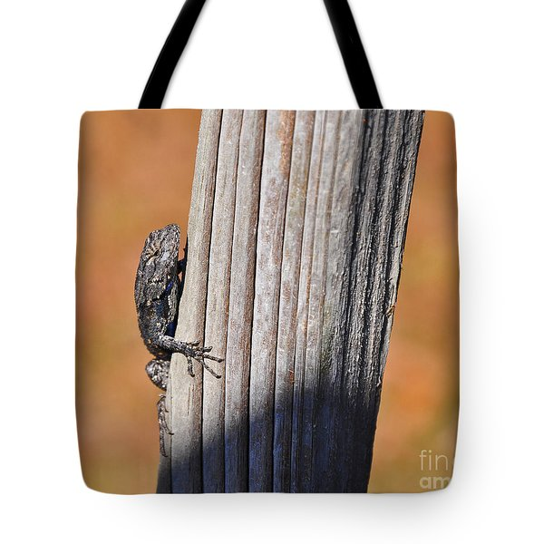 Tote Bag featuring the photograph Blue Bits by Al Powell Photography USA