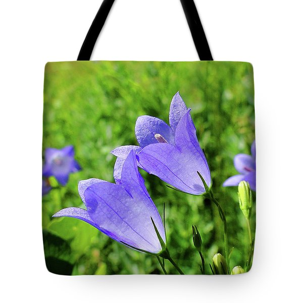 Hairbell - Campanula Rotundifolia Tote Bag by Blair Wainman