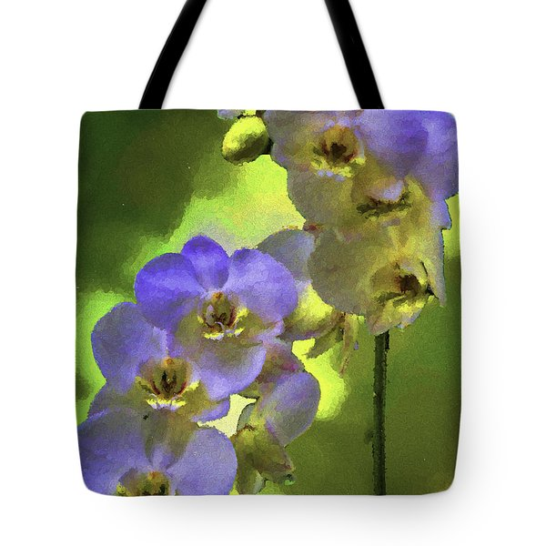 Blue Blush  Tote Bag