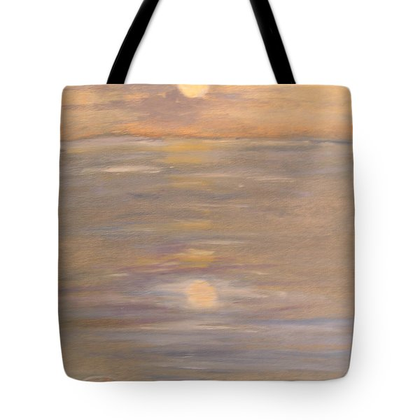 Blue Boat Tote Bag by Patricia Caldwell