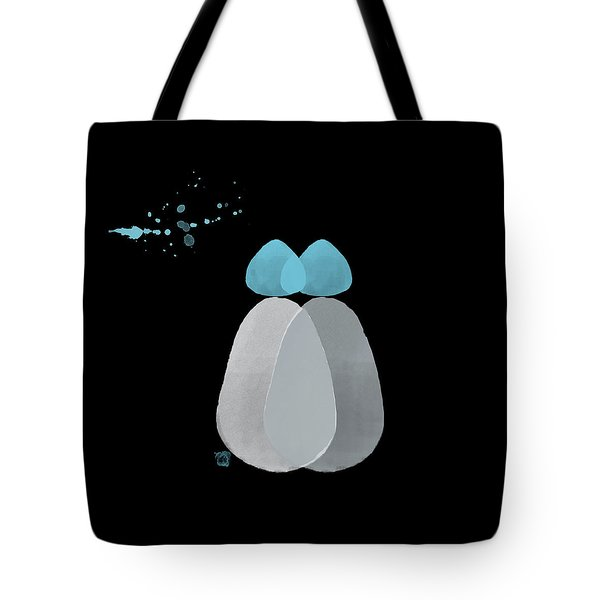 Blue Bodies Tote Bag by Kandy Hurley