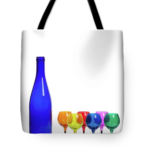 Blue Bottle #2429 Tote Bag