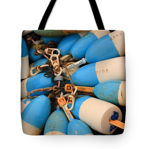Blue Bouys Tote Bag
