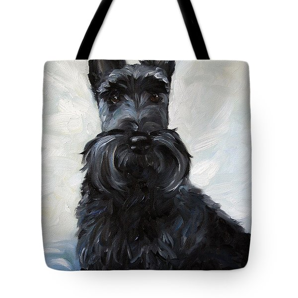 Blue Boy Tote Bag by Mary Sparrow