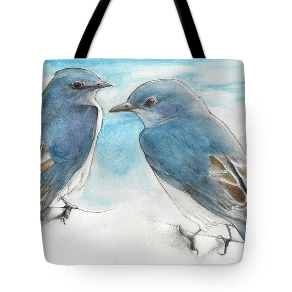 Blue Boys Tote Bag