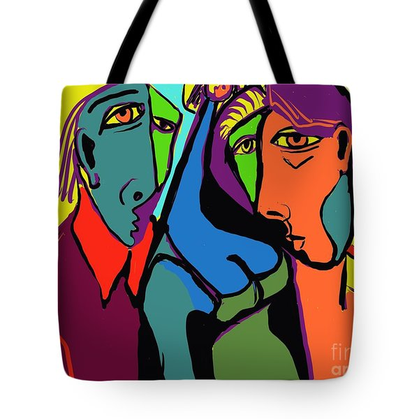 Blue Breasted Distraction Tote Bag