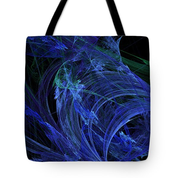 Blue Breeze Tote Bag by Andee Design