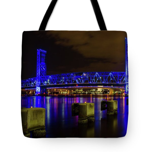 Blue Bridge 1 Tote Bag