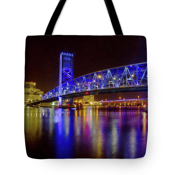 Blue Bridge 2 Tote Bag
