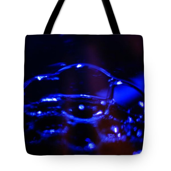 Blue Bubbles Tote Bag