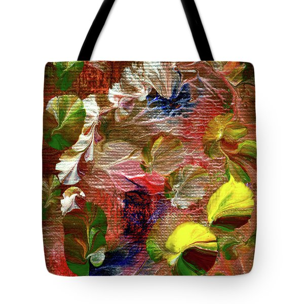 Blue Butterfly Jungle Tote Bag