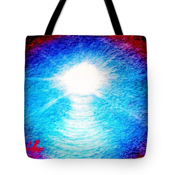 Blue Cave Tote Bag