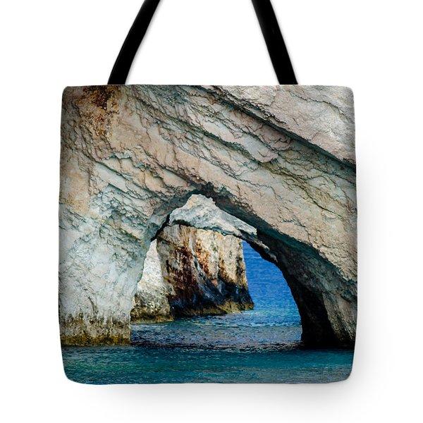 Blue Caves 1 Tote Bag