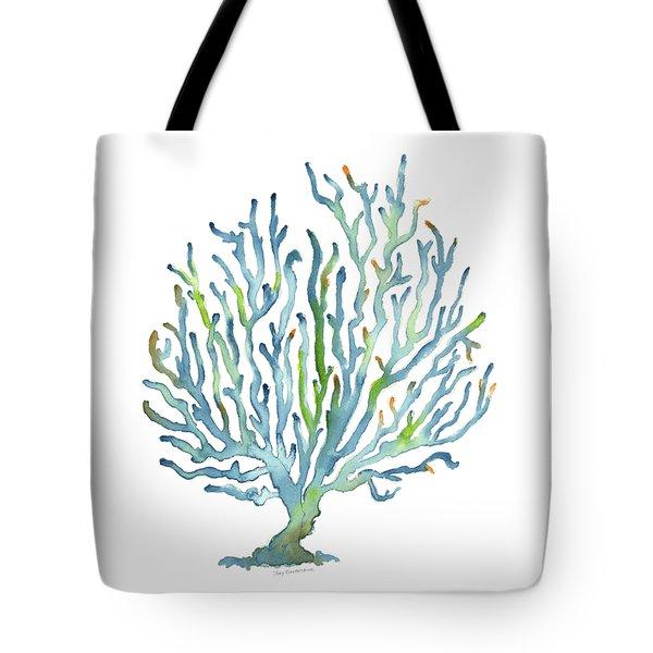 Blue Coral Tote Bag