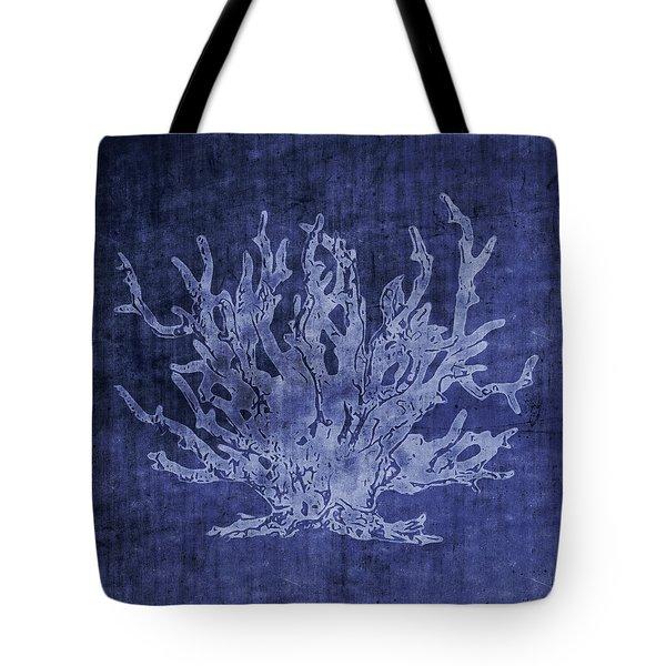 Blue Coral- Art By Linda Woods Tote Bag