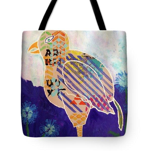Blue Cornflower Tote Bag