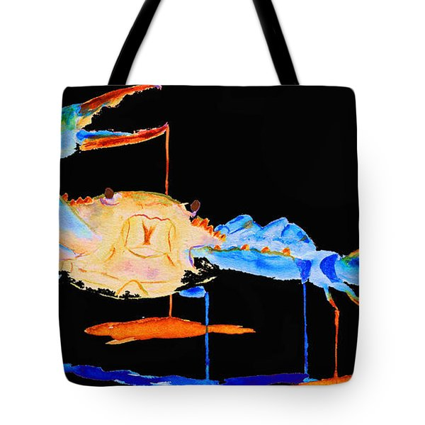 Blue Crab Two Tote Bag