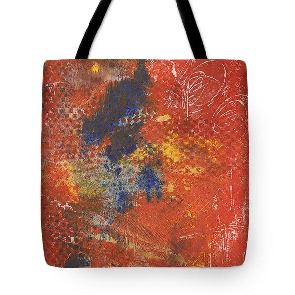 Blue Dancer Tote Bag