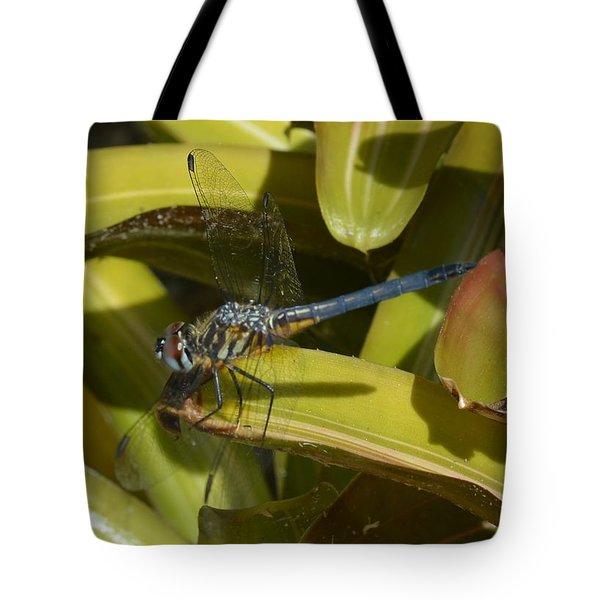Blue Dasher 2 Tote Bag