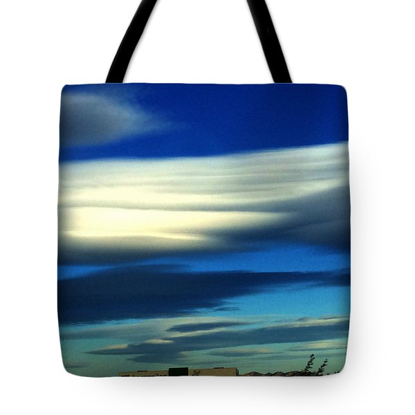 Blue Day Spain  Tote Bag
