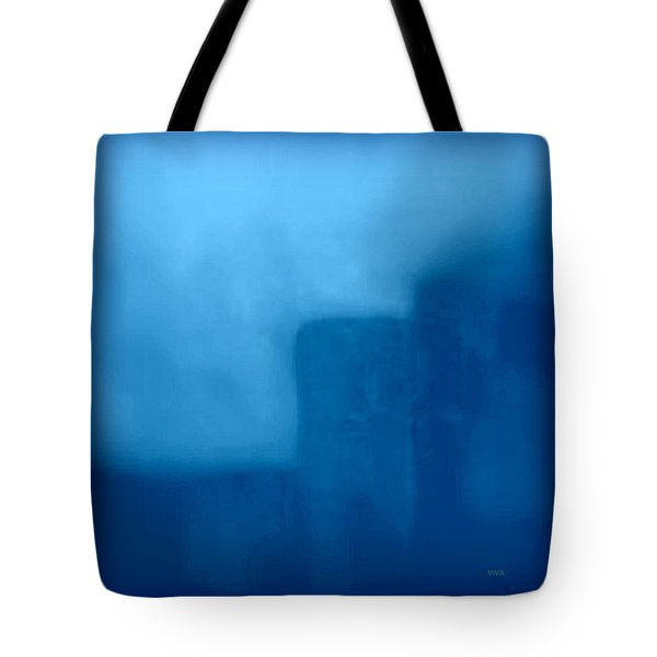 Blue Day - The Sound Of Silence  Tote Bag