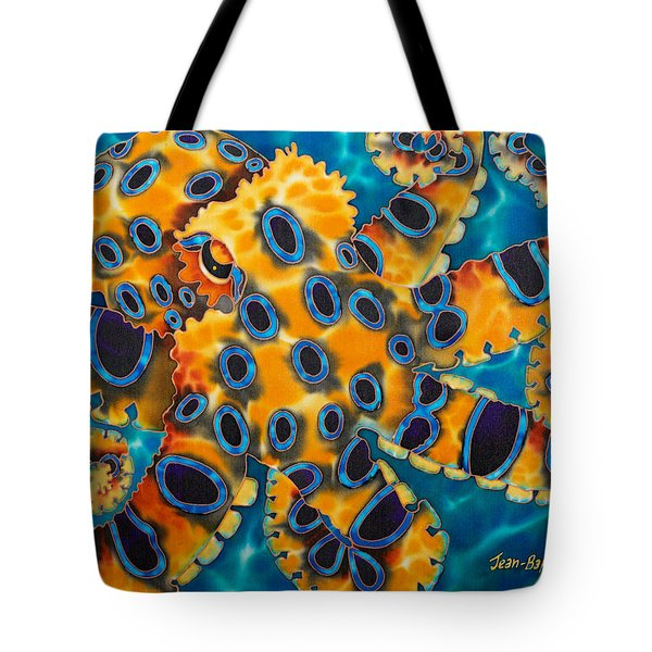 Blue Ringed Octopust Tote Bag