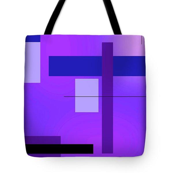 Blue Design 2 Vertical  Tote Bag