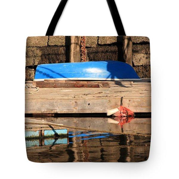 Blue Dingy Tote Bag