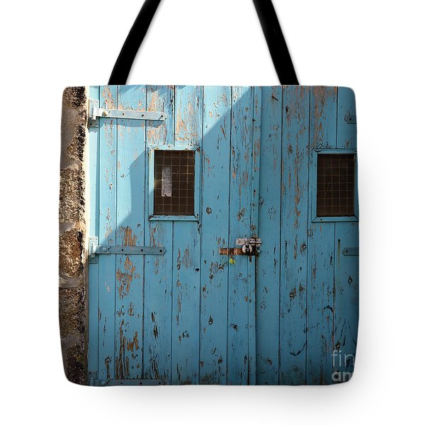 Blue Doors Tote Bag