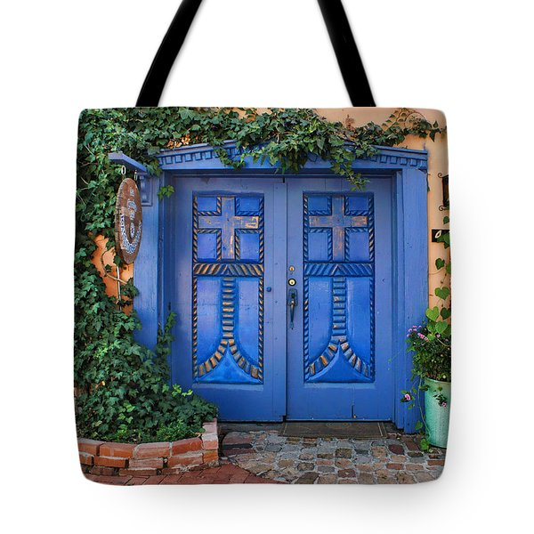 Blue Doors - Old Town - Albuquerque Tote Bag
