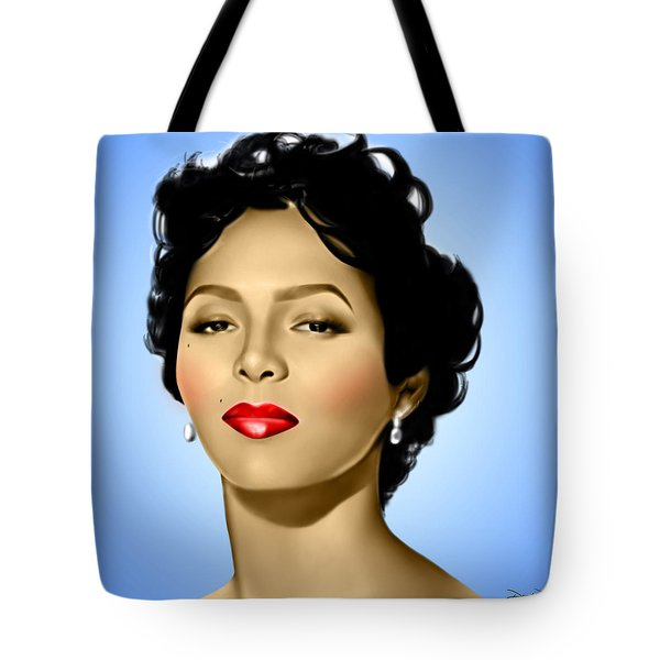 Blue Dorothy Tote Bag by Davonte Bailey